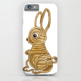 Rope Bunny iPhone Case