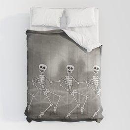 Dancing skeletons II Comforters