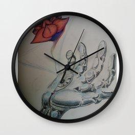 tech reality Wall Clock