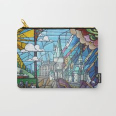 Hogwarts stained glass style Carry-All Pouch