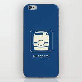 Shinkansen iPhone Skin