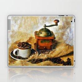 Coffee Grinder and Coffee Cup Laptop & iPad Skin