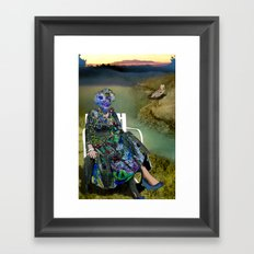 Spacious Shame Framed Art Print