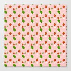 Strawberry Plant Canvas Print