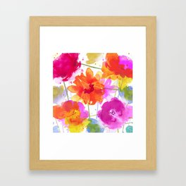 vive l'été! Framed Art Print