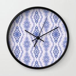 Ikat- ish Wall Clock