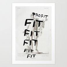 Strike 41 Art Print