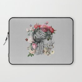Beautiful Brain ~ Gray Laptop Sleeve
