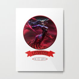 League Of Legends - Lissandra Metal Print