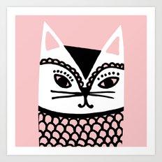 Katze #2 Art Print