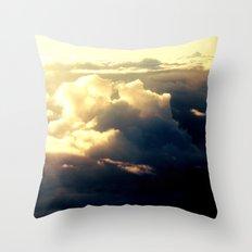 just a sky Throw Pillow