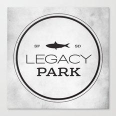 Legacy Park Canvas Print