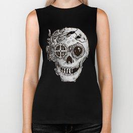 Steampunk Skull Biker Tank