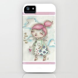 A Hope-Spreading Fairy iPhone Case