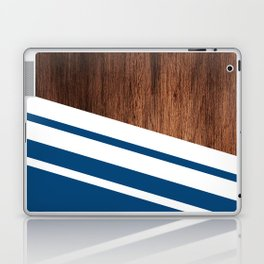 Wood of blue Laptop & iPad Skin