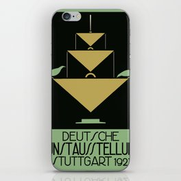 Stuttgart art expo: feed the birds iPhone Skin