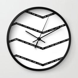LoveLifeSmileFun Wall Clock