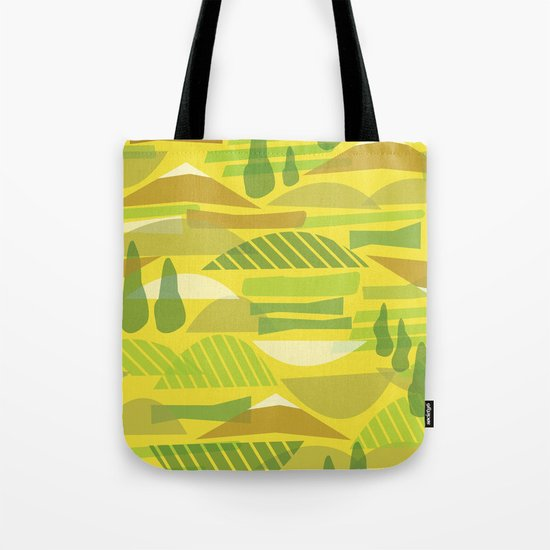 Italian Countryside Tote Bag