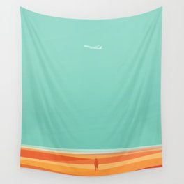 Where the sea meets the sky Wall Tapestry