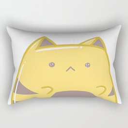 Shiny Cat Rectangular Pillow