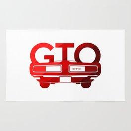 Pontiac GTO - classic red - Rug