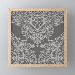 BOHO ORNAMENT 1C Framed Mini Art Print