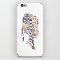anna iPhone & iPod Skins featuring Anna by MollyW
