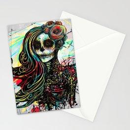 Vivid Muerte Stationery Cards