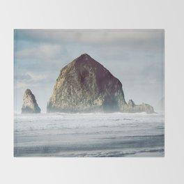 West Coast Wonder - Nature Photography Throw Blanket