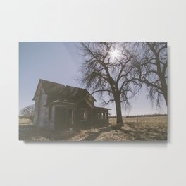 Abandoned: South Dakota 9801 Metal Print