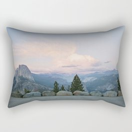 Half Dome at Sunset Rectangular Pillow