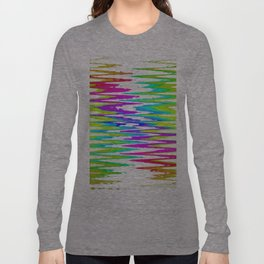 Rainbow rhombus Long Sleeve T-shirt