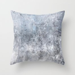 Gray Angst 1 Throw Pillow