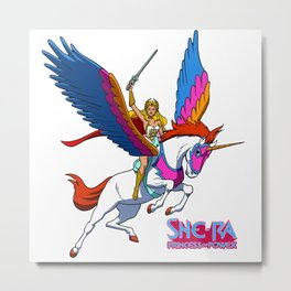 She-Ra Princess Of Power Metal Print