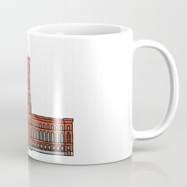 Red City Hall Berlin Coffee Mug