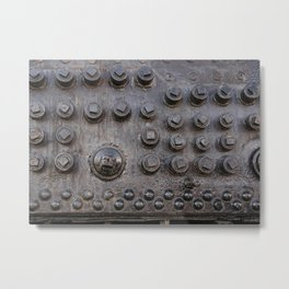 steam engine detail Metal Print