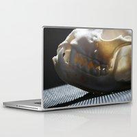 teeth Laptop & iPad Skins featuring Teeth by EquusLupus