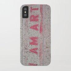 I Am Art Slim Case iPhone X