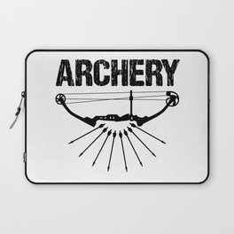 Archery Archer Bow Hunter Bowman Hunting Gift Laptop Sleeve