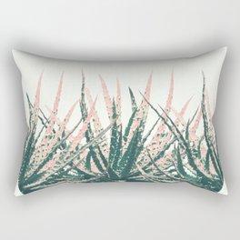 Succulent bowl desert Rectangular Pillow