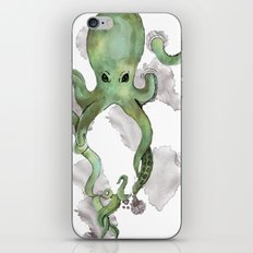 Octopus4 iPhone & iPod Skin