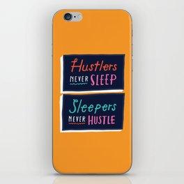 Never Sleep iPhone Skin