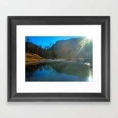 LIGHT PLAY Framed Art Print