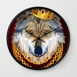 The King of Wolves Wall Clock