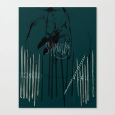 Skullduggery Canvas Print