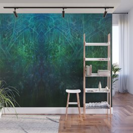 Abstract Fantasy Woods V3 Wall Mural