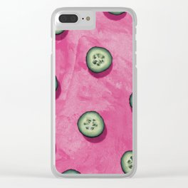 fruit 8 Clear iPhone Case