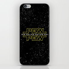 Pew Pew v2 iPhone & iPod Skin