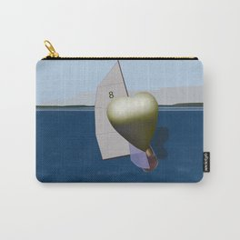 May: a Heart Soaring in the Bay - shoes story Carry-All Pouch