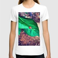 ladybug T-shirts featuring ladybug by HLee
